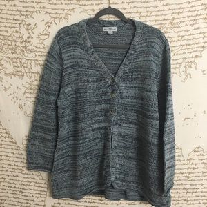 WindiRiver Oversized 3 Button Cardigan